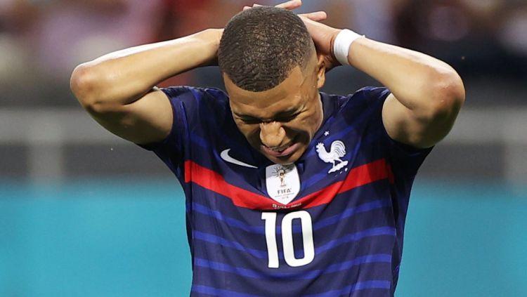 Kylian Mbappe Gagal Pinalti Sebabkan Prancis Kalah
